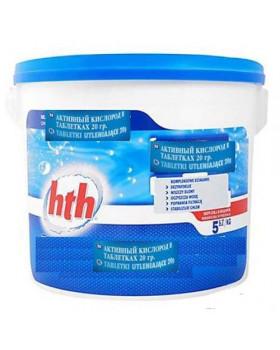 hth Активный кислород в таблетках 20 гр. 5 кг