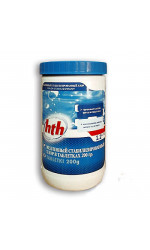 hth Медленный стабилизированный хлор в таблетках 200 гр, 1,2 кг