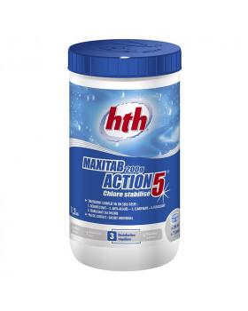 hth Таблетки стабилизированного хлора 5 в 1 200 гр. 1,2 кг