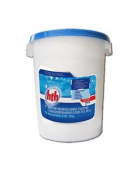 hth Таблетки стабилизированного хлора 5 в 1 200 гр. 25 кг