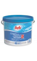 hth Таблетки стабилизированного хлора 5 в 1 200 гр. 5 кг