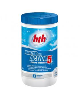 hth Таблетки стабилизированного хлора 5 в 1 20 гр. 1,2 кг